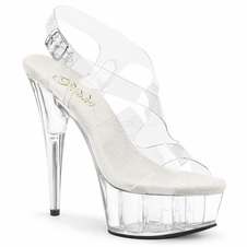 Pleaser Delight-630 Slingback Sandal