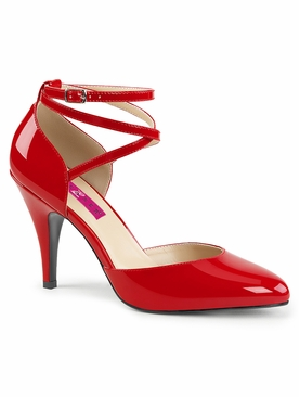 Pleaser Dream-408 Crisscross D'Orsay Pump