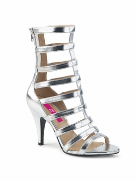 Pleaser Dream-438 Strappy Ankle Boot