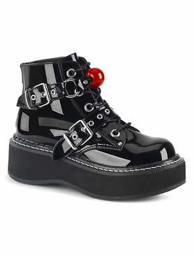 Pleaser Emily-318 Lace-Up Ankle Boot
