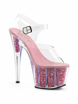 Pleaser Exotic Dancer Shoes Adore-708G Platform Sandal