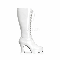 Pleaser Exotica-2020 Lace Up Knee High Boots