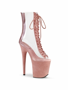 Pleaser Flamingo-800-34FS Peep Toe Ankle Boot