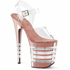 Pleaser Flamingo-808CHLN Ankle Strap Sandal
