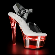 Pleaser Stripper Shoes Flashdance-708 Chargeable Sandal