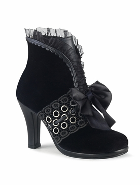Pleaser Glam-110 Pull On Ankle Boot