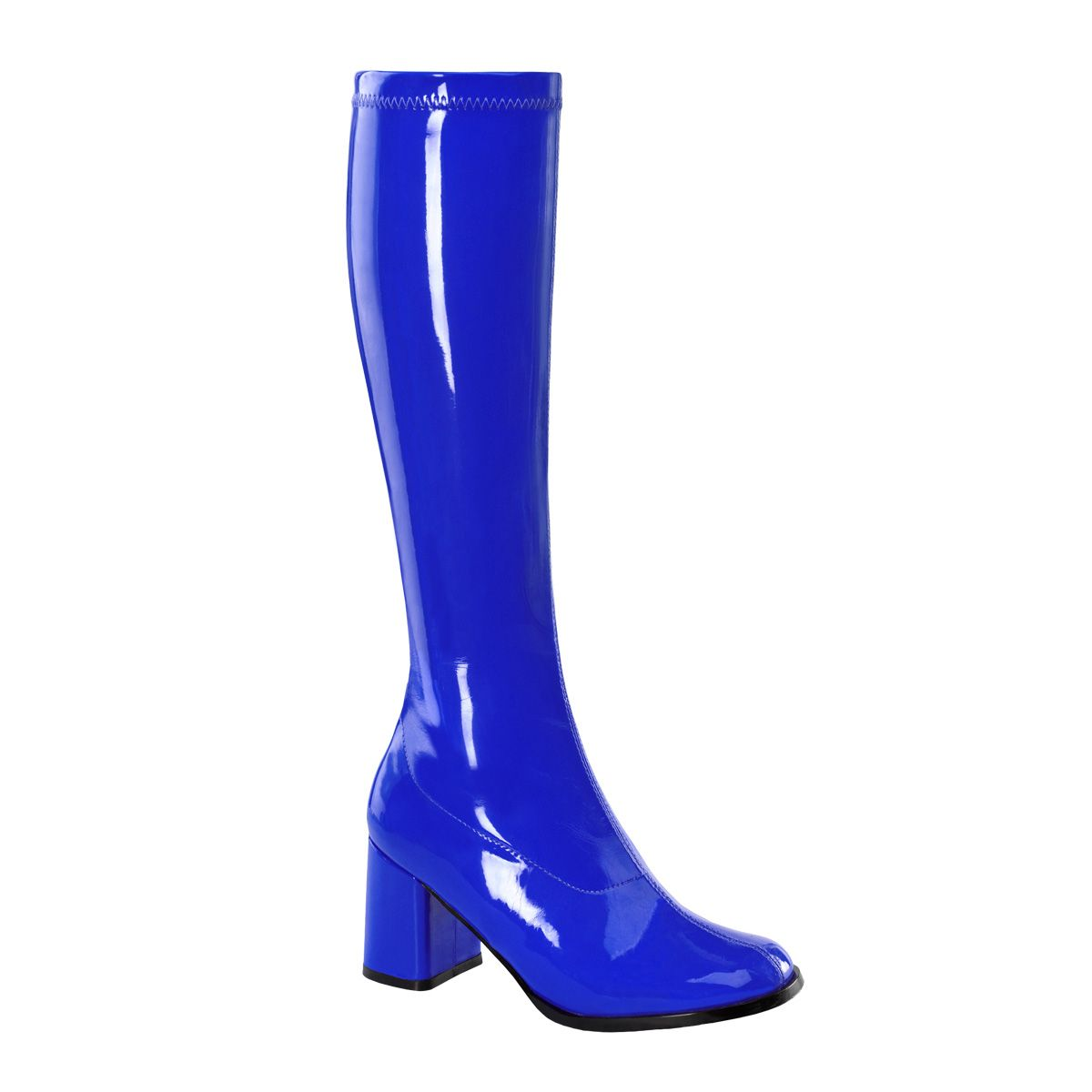 Pleaser Gogo 300 Knee High Boot W Side Zipper
