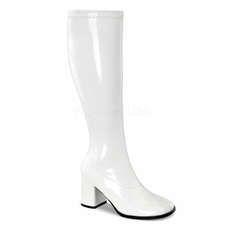 Pleaser GoGo-300WC Wide Calf Knee High Boot