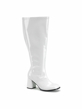 Pleaser GoGo-300X Wide Width Knee High Boot