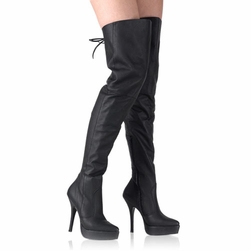Pleaser Indulge-3011 Thigh High Boots