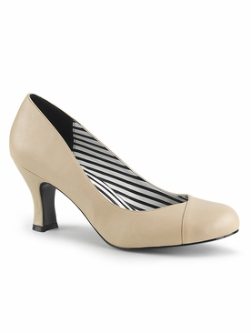Pleaser Jenna-01 Closed Toe Pump