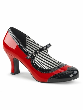 Pleaser Jenna-06 Spectator Mary Jane Pump