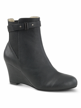 Pleaser Kimberly-102 Wedge Ankle Boot