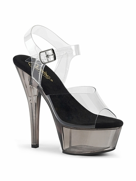Pleaser Kiss-208T Ankle Strap Sandal