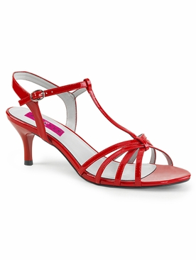 Pleaser Kitten-06 T-Strap Open Toe Sandal