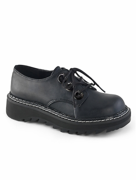 Pleaser Lilith-99 Lace Up Oxford Shoe
