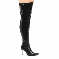 Pleaser Lust-3000X Wide Width Thigh High Boot