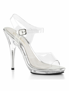 Pleaser Poise-508 Ankle Strap Sandal