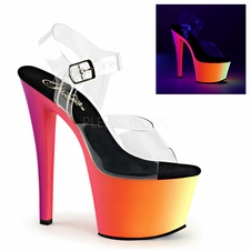 Pleaser Rainbow-308UV Platform UV Exotic Dancer Shoes
