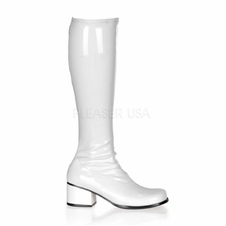 Pleaser Retro-300 Knee High Boots