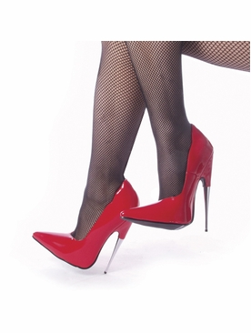 Pleaser Scream-01 Pump With Steel Heel