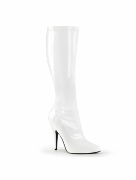 Pleaser Seduce-2000 Stretch Knee High Boot
