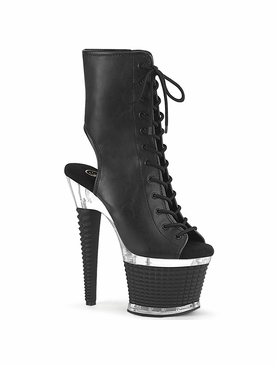 Pleaser Spectator-1016 Lace-Up Front Ankle Boot