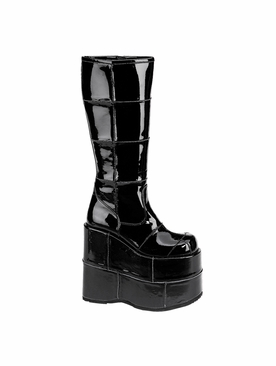 Pleaser Stack-301 Men's Goth Cyber Knee Boot