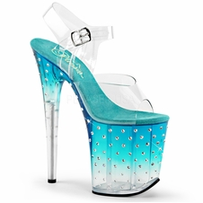 Pleaser Stardust-808T Ankle Strap Sandal
