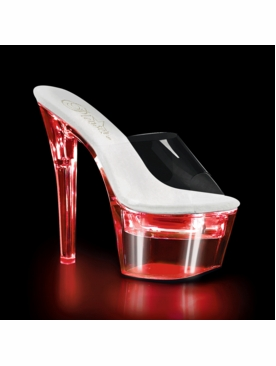 Pleaser Stripper Shoes Flashdance-701 Chargeable Dancer Heels