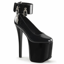 Pleaser Tramp-742 Platform Ankle Band Pump
