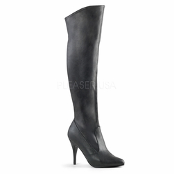 Pleaser Vanity-2013 Pull On Knee High Boots