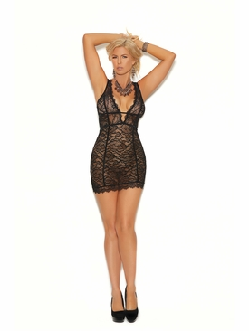 Plus Elegant Moments 80025X Empire Waist Chemise