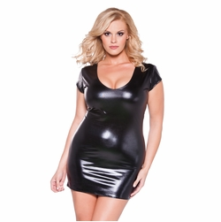 Plus Size Allure 17-2602XK Flirty Kitten Dress