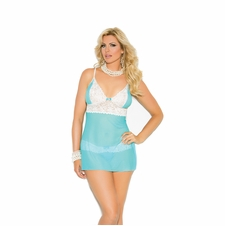 Plus Size Elegant Moments 4273X Babydoll Set