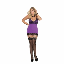 Plus Size Elegant Moments 4341X Satin Chemise