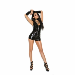 Plus Size Elegant Moments V7130X Vinyl Romper
