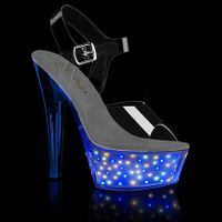 Recharge LED Light Up Stripper Shoes