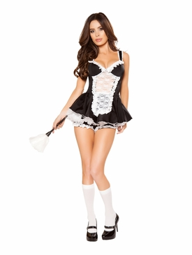 Roma 4pc Maid You Do It Roleplay Costume