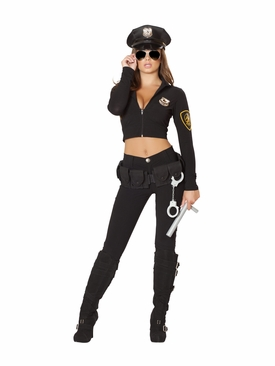 Roma 6pc Seductive Cop Roleplay Costume