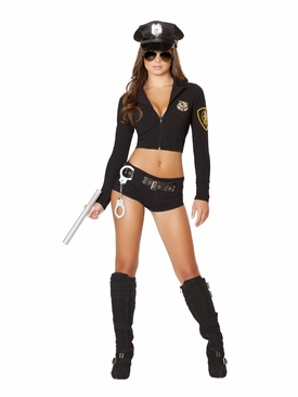 Roma 7PC Officer Hottie Roleplay Costume