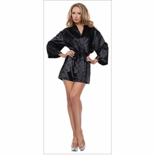 Satin Babydoll With Matching Robe