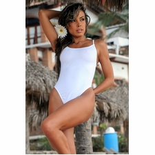 Sheer When-Wet Tonga One Piece Bathing Suit