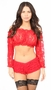 Sheer Lace Long Sleeve Peasant Top Many Colors - image 6