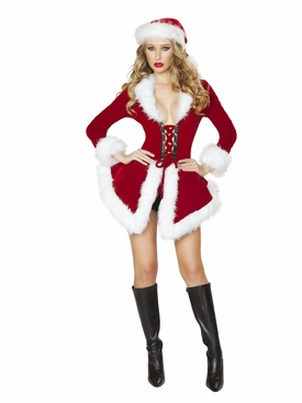 Two Piece Ms. Santa Outfit