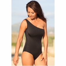 Ujena Dangerous Curves Black One Piece Swimwear