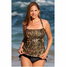 Ujena Empire Tankini Swimwear to 3X
