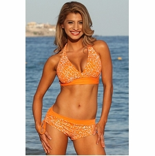 Ujena Orange Crush Sexy Slimsuit Bathing Suit