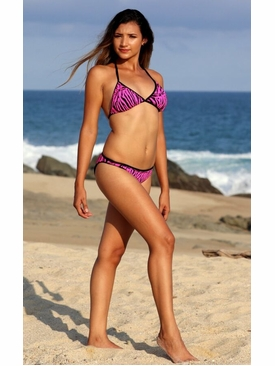 Ujena Outline Bikini Bathing Suit