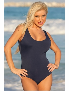 Ujena Swimwear 1035  Scoop Neck Sexy One Piece Bathing Suit